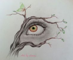 Nature eye by ilinea