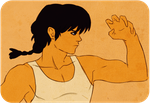 ranma training by wickedevilbunny