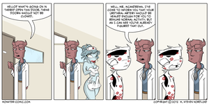 I'm Cured by monster-comic