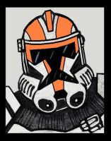 ORANGE WARS TROOPER by PLANETKURTH