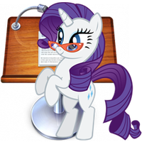 Rarity Note Icon by Quarion-Design