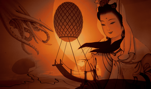 Quan Yin Rescues Port Babbage by LydiaTremont