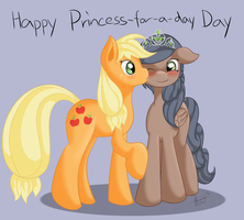 Happy Princess-For-A-Day Day! by RatofDrawn