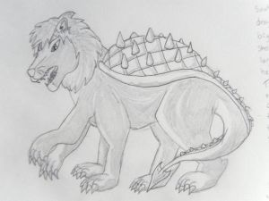 Tarasque Sketch