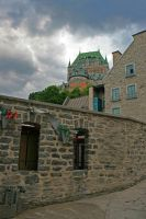 Chateau Frontenac by deadrose333