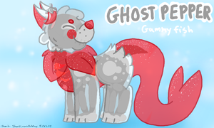 Ghost Pepper Gummyfish Auction (CLOSED) by ShardLovesPotatoes