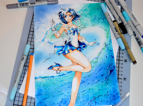 Sailor Mercury by Lighane