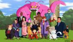 Dragonball Red Ribon Army Saga by Nostal