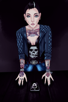 Watch_Dogs | Clara Lille by NeonBairon