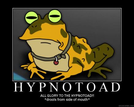 Hypnotoad Poster by Teh-Lucario