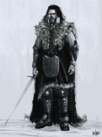 Brainstorm #23 Game of Thrones Redesign - Jon Snow by jontorresart