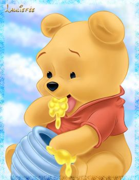 Winnie the pooh by Laurine-Tellier