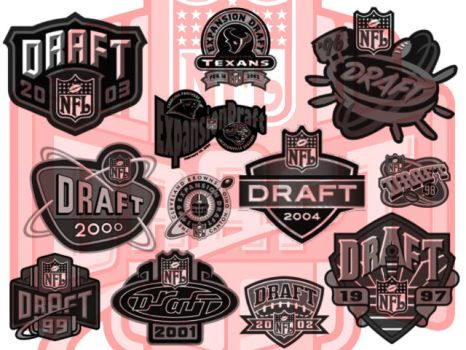 NFL Draft Brush Pack by UneekResources