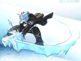 Ice-man wallpaper by Averno7