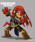 DHS Character Sheet - Knuckles by Mejin