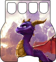 Guitar Grip Skin - Spyro 2 by Lukar82394