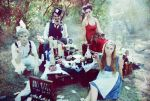 Mad Hatter Tea Party by theimagination