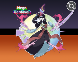 #228-M Mega Gardevoir (Joseon Form) by locomotive111