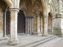 Salisbury Cathedral Door 4 by angel1592Stock