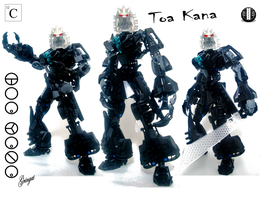 Kana, Toa of Carbon by Lol-Pretzel