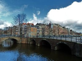 Amsterdam canals by PhilsPictures