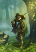 A hobbit by jameli