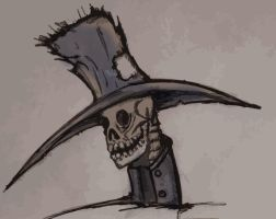 Death wears a cool Hat by PhillipSupertramp