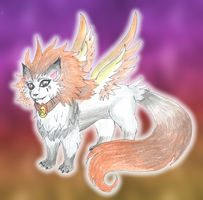 Phoenix Wolf by CandySkitty