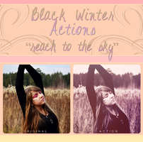 Black Winter Actions - Reach To The Sky by blackxwinter