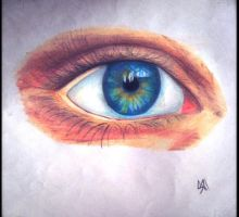 Colored Eye by Hannavos