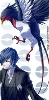 Bookmark - Falkner by hasuyawn