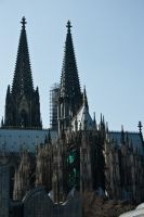 Cologne cathedral 2 by Drezdany-stocks
