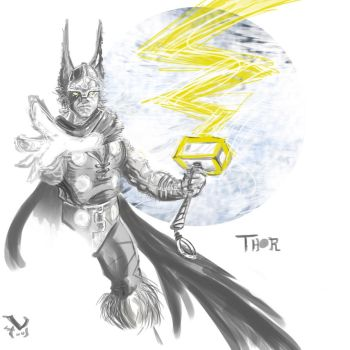 Thor by middleclasscyborg