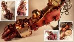 Steampunk Gauntlet - Here comes the BOOM! by deadlanceSteamworks