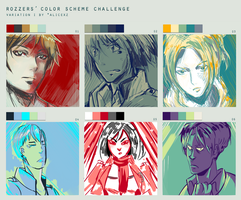 SNK Color Scheme Meme w/ De-rezzed by Vexcel