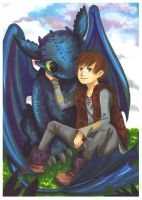 HTTYD: Best friends by momofukuu