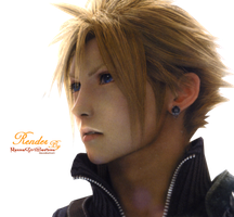 Render Cloud Strife By me by RanmaGirlSaotome