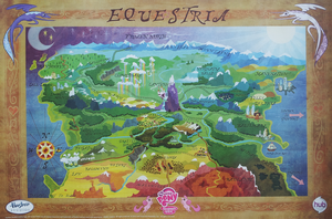 Hi Resolution Equestria Map by PixelKitties