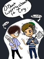 PewDiePie and Cry by anto99
