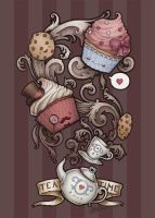 TeaTime by Medusa-Dollmaker