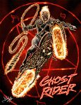 Ghost Rider by wobblyone