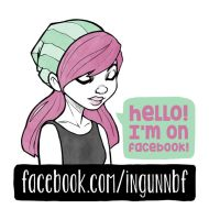 I'm on Facebook by ingunnbf