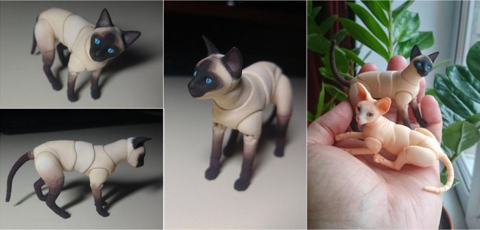 2cats by leo3dmodels