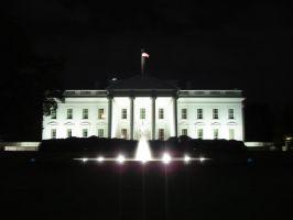 The White House by Krefeg