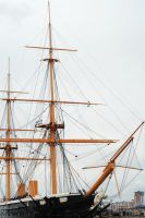 HMS Warrior II by fraggingfreek