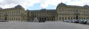 Residenz panorama by Luphia