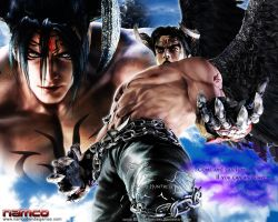 Devil Jin Version 2 2010-11-08 by Blood-Huntress