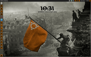 Ubuntu War Conky  by speedracker