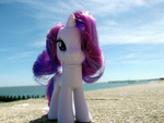 Seafront Rarity by PonellaToon