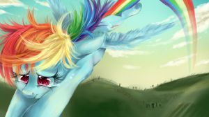 Rainbow Dash thinks of her Friends. by dreampaw